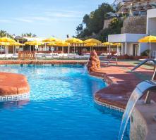 Cartago Hotel Club in Puerto San Miguel, Ibiza, Balearic Islands