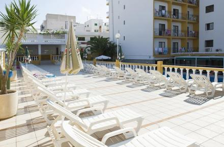 Brisa Hotel in San Antonio, Ibiza, Balearic Islands