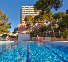 Blue Bay Hotel in Cala Mayor, Majorca, Balearic Islands