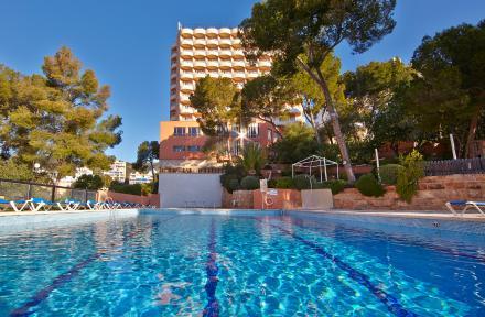 Blue Bay Hotel in Cala Mayor, Majorca, Balearic Islands