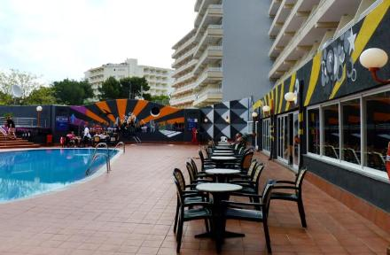 Barracuda Hotel in Magaluf, Majorca, Balearic Islands