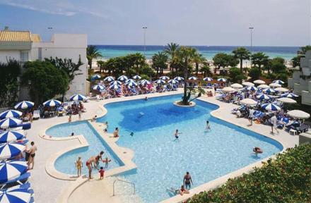 Club Mediterraneo Hipotels in Sa Coma, Majorca, Balearic Islands
