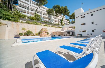 Sun Beach Apartments in Santa Ponsa, Majorca, Balearic Islands