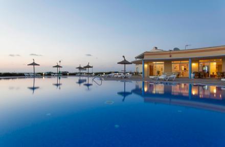 Sea Club Aparthotel in Cala'n Forcat, Menorca, Balearic Islands