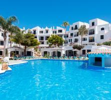 Carema Garden Village in Playa de Fornells, Menorca, Balearic Islands