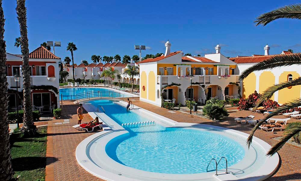 Cordial Green Golf Bungalows in Maspalomas, Gran Canaria, Canary Islands