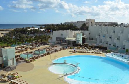 HD Beach Resort in Costa Teguise, Lanzarote, Canary Islands