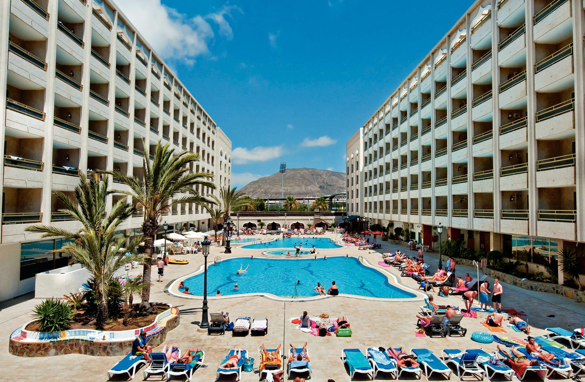 Columbus Aparthotel in Playa de las Americas, Tenerife, Canary Islands
