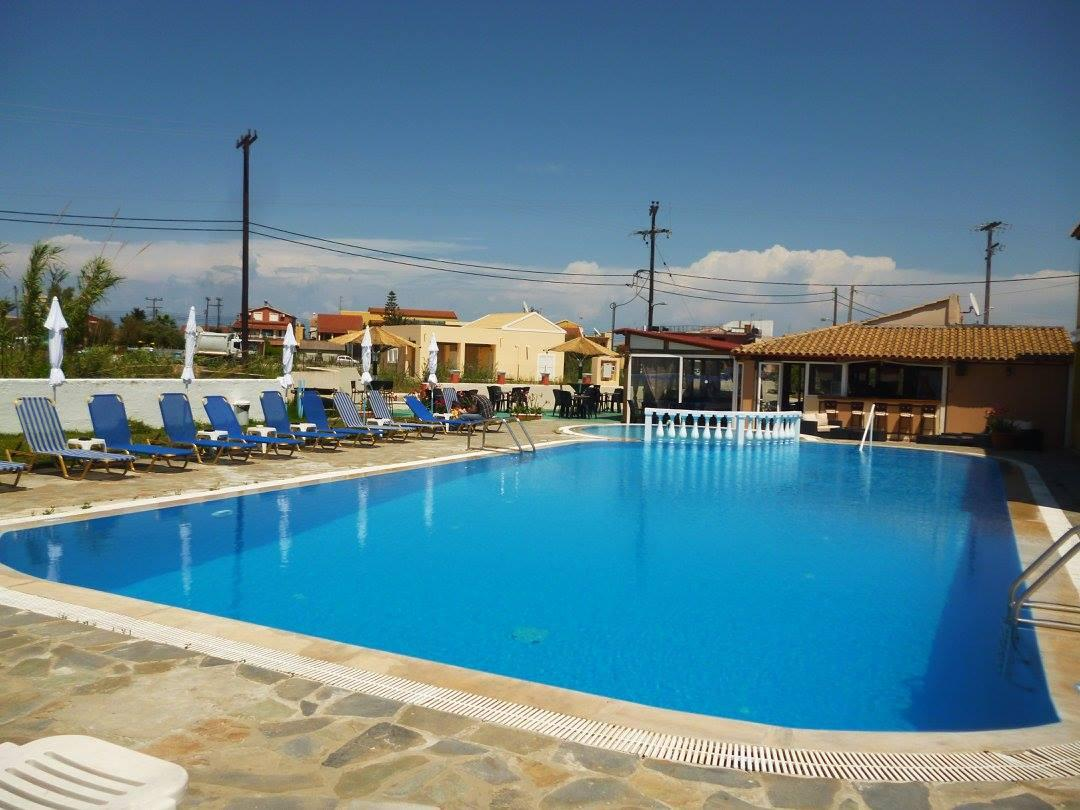 Alexis Pool Apartments in Sidari, Corfu, Greek Islands