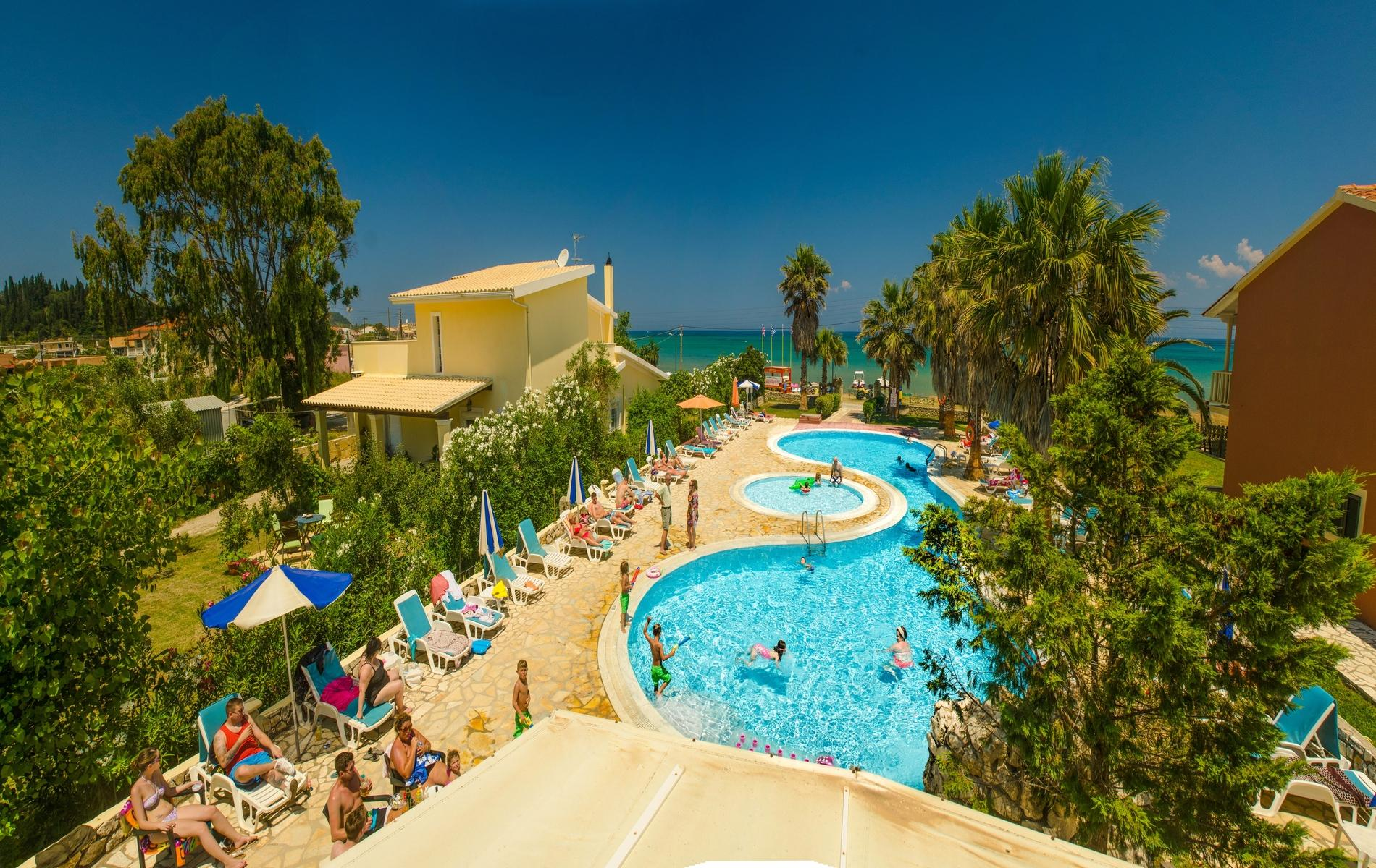 Orestis Aparthotel in Sidari, Corfu, Greek Islands