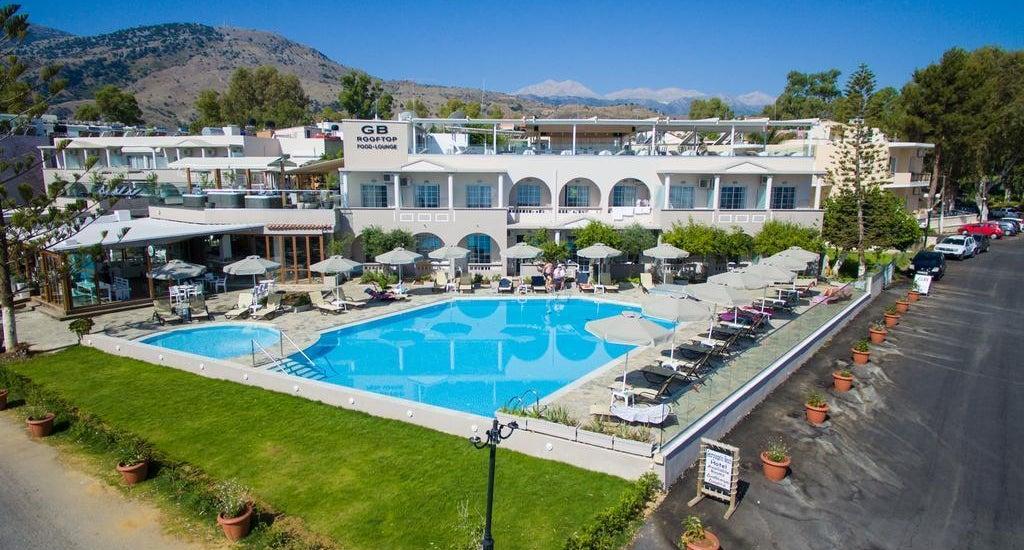Georgioupolis Beach Hotel In Georgioupolis Crete Holidays From