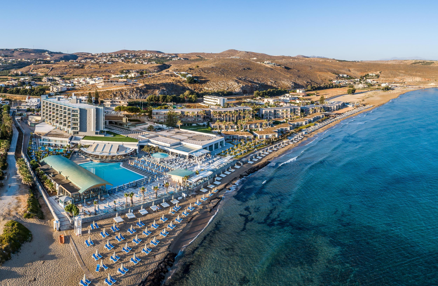 Carte Crete Kokkini Hani.Arina Beach Hotel Bungalows In Crete Kokkini Hani