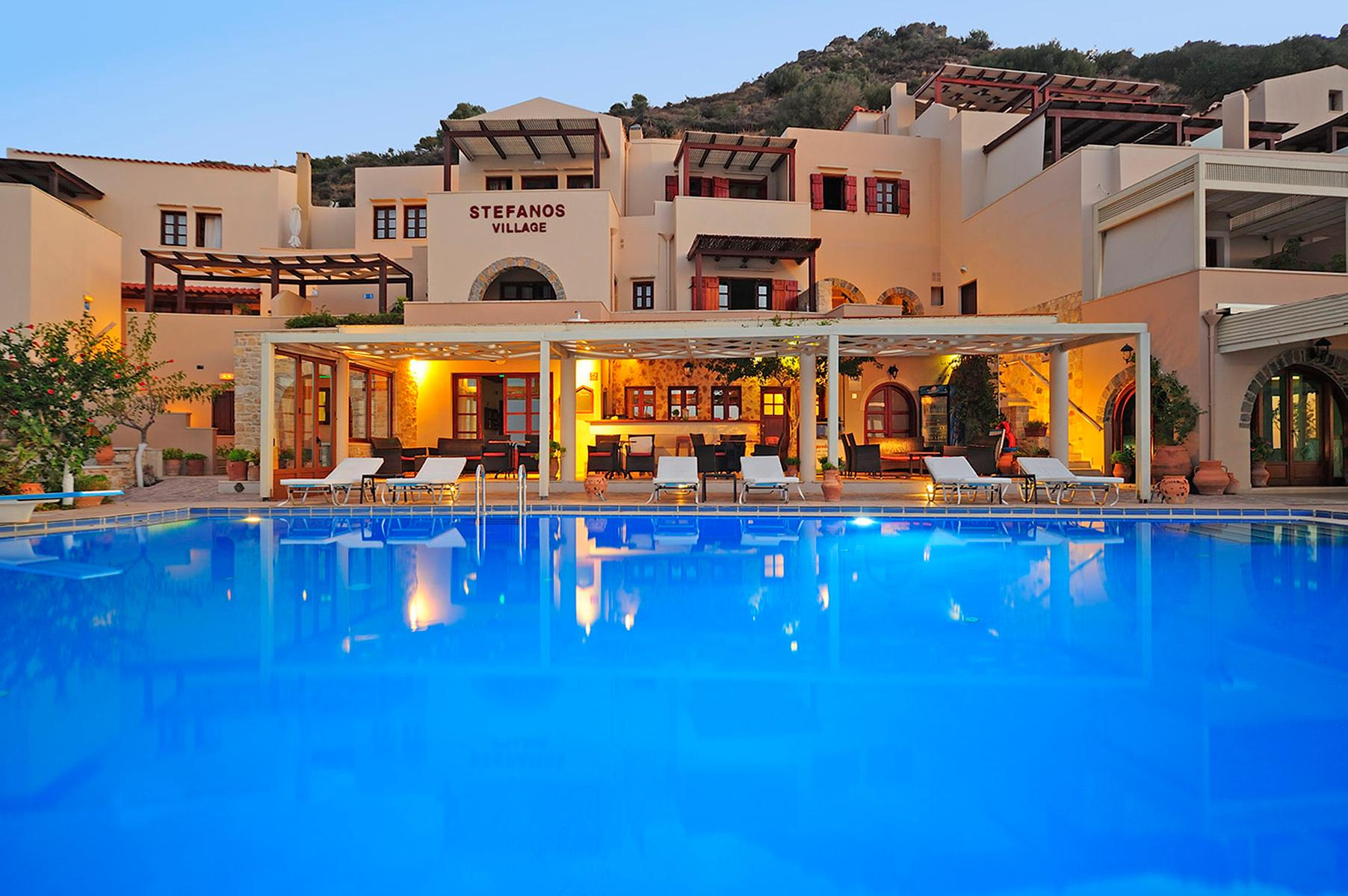 Stefanos Village in Plakias, Crete, Greek Islands
