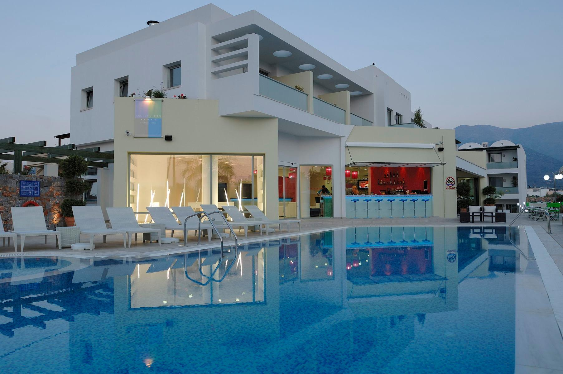 Angela Suites Boutique Hotel in Sissi, Crete, Greek Islands