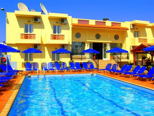 Maria Hotel in Sissi, Crete, Greek Islands