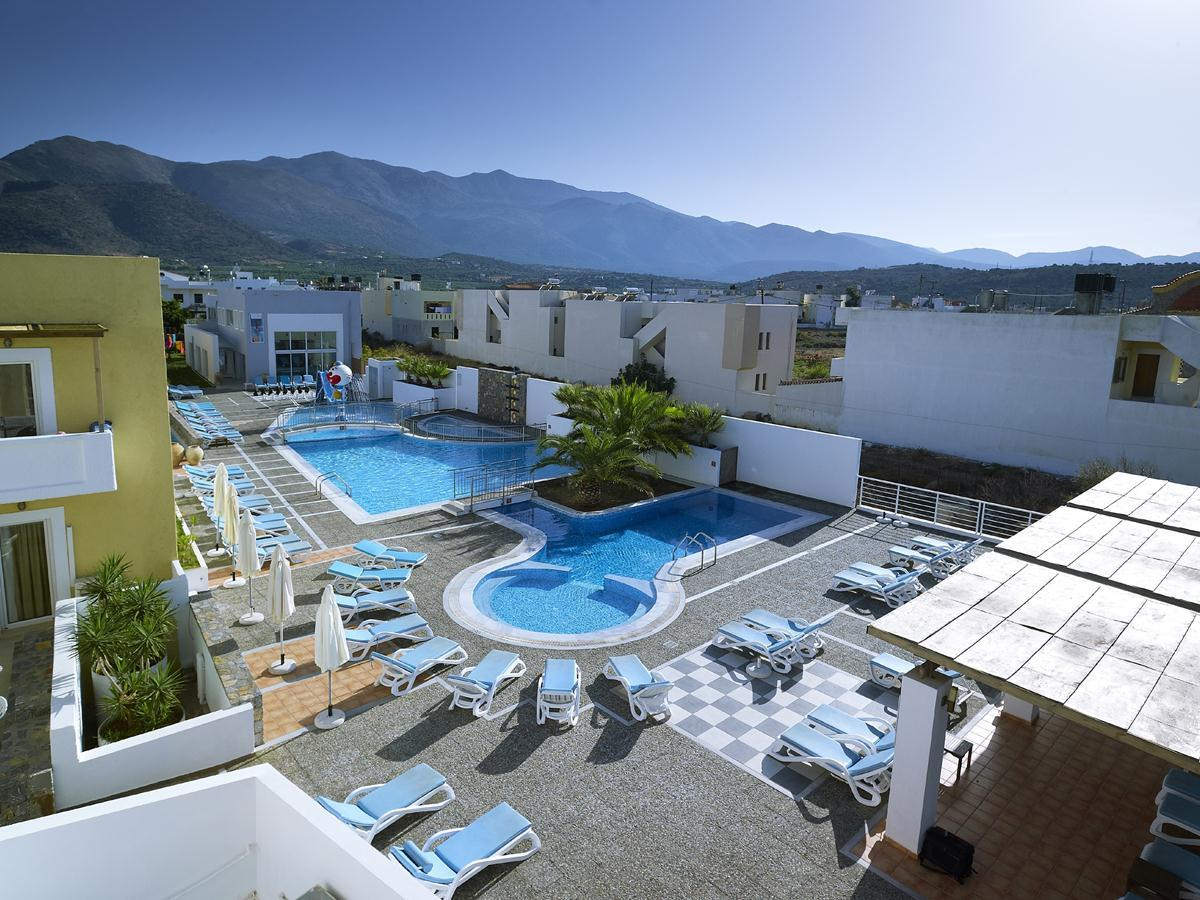 Sissi Bay Hotel in Sissi, Crete, Greek Islands