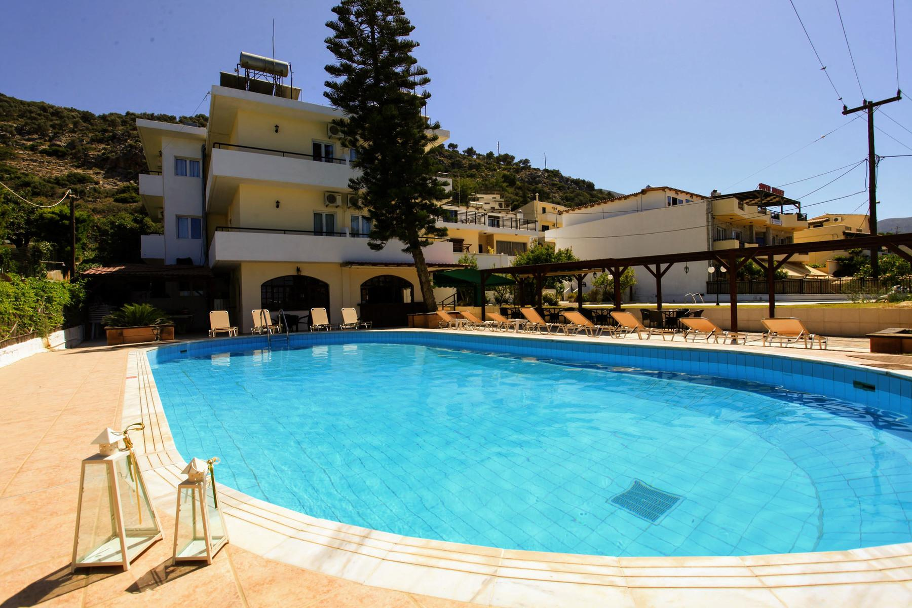 Iraklis Apartments in Stalis, Crete, Greek Islands