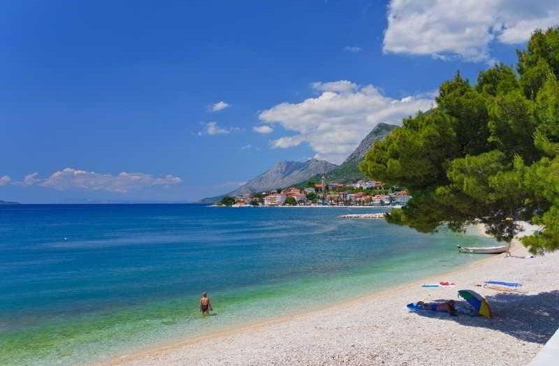 Carte Croatie Gradac.Hotel Saudade In Gradac Croatia Holidays From 349 Pp
