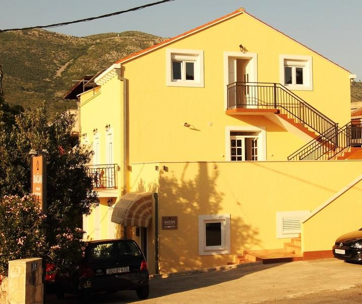 Bacan Serviced Apartments in Cavtat, Dubrovnik Riviera, Croatia