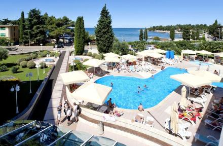 Laguna Park Hotel in Porec, Istrian Riviera, Croatia