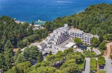 Valamar Rubin Hotel in Porec, Istrian Riviera, Croatia