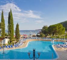 Hotel Mimosa in Rabac, Istrian Riviera, Croatia