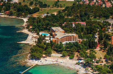 Hotel Sol Umag in Umag, Istrian Riviera, Croatia