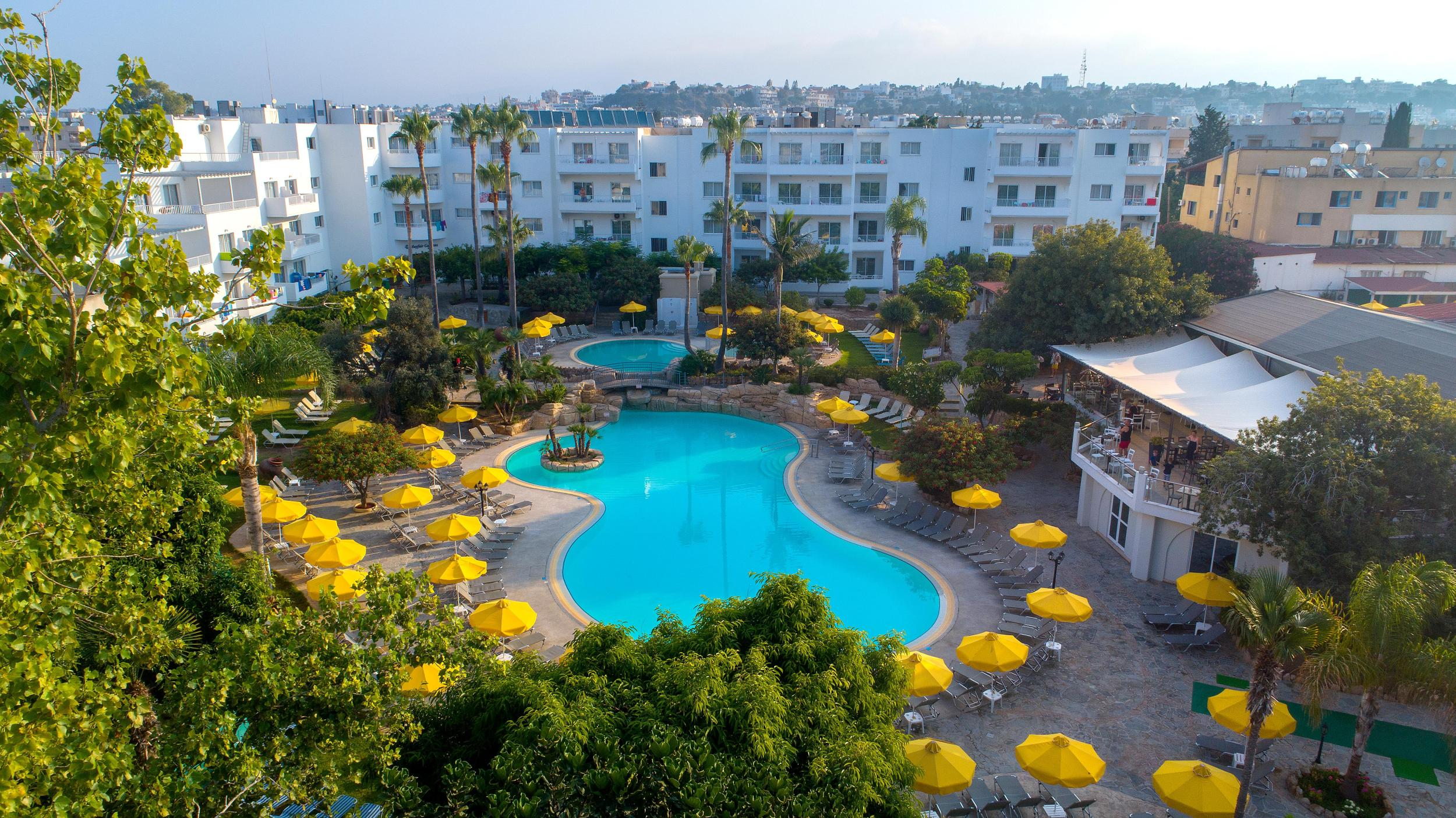 Mayfair Gardens in Paphos, Cyprus
