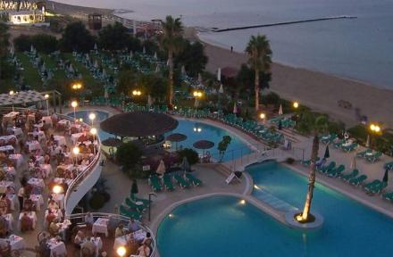 Sunrise Beach Hotel in Protaras, Cyprus