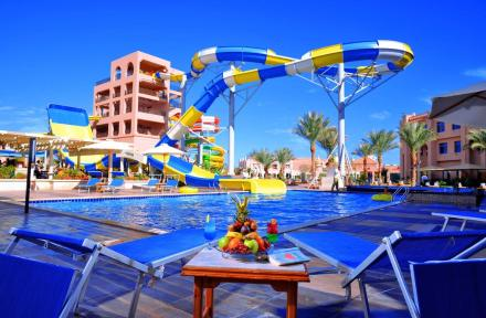 Albatros Aqua Park in Hurghada, Red Sea, Egypt