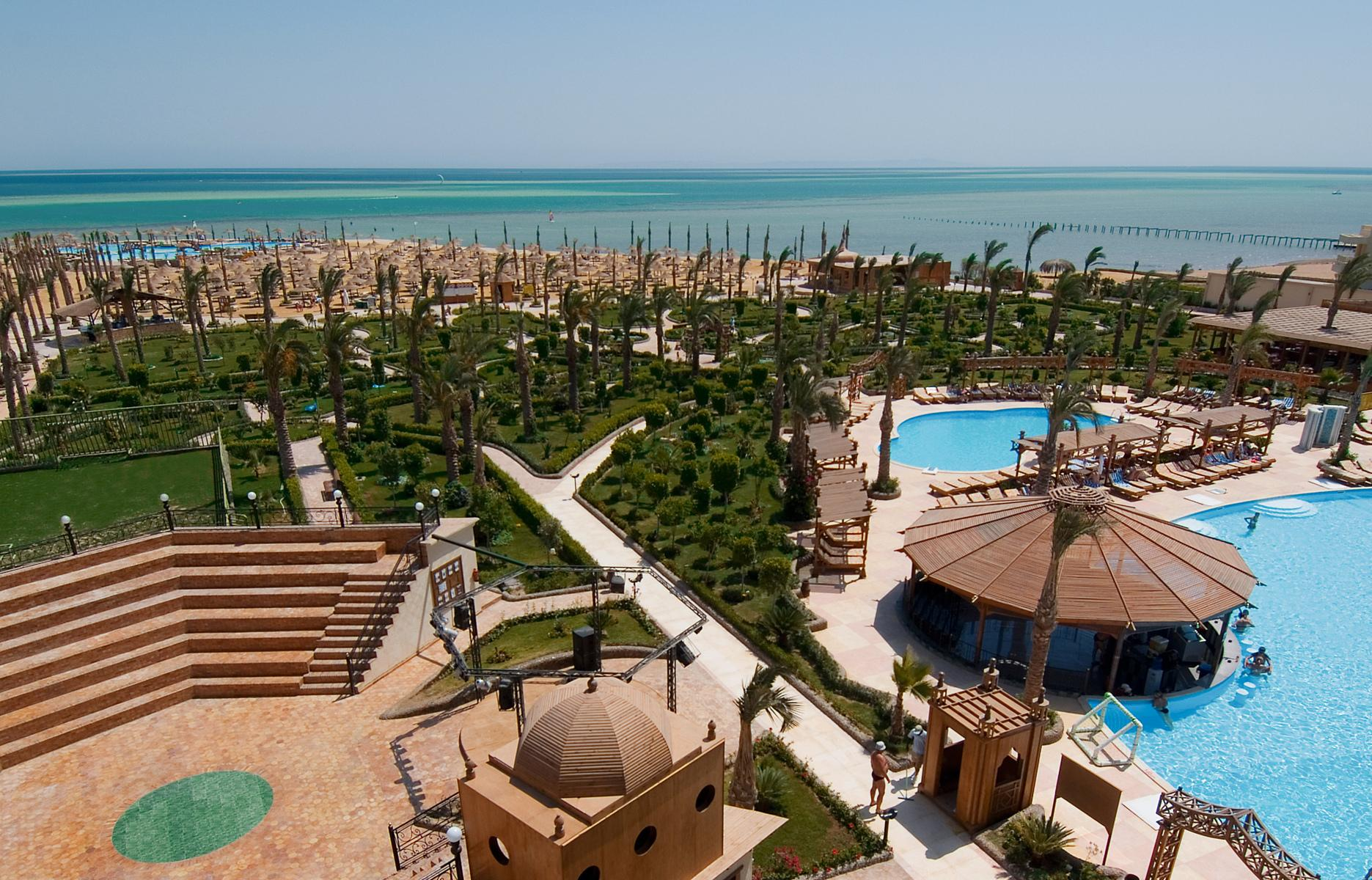 Hawaii Le Jardin Aqua Park in Hurghada, Red Sea, Egypt