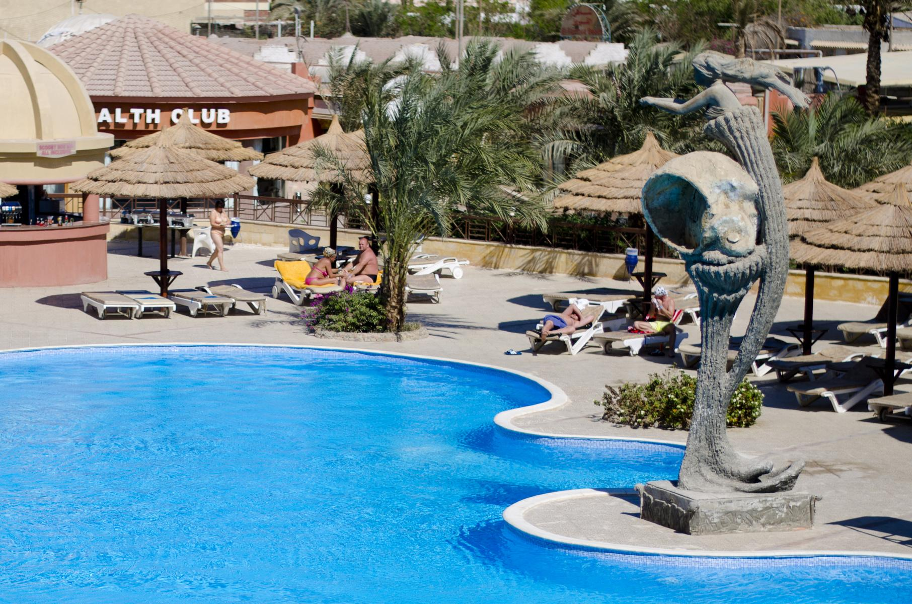 Sea Gull Beach Resort in Hurghada, Red Sea, Egypt