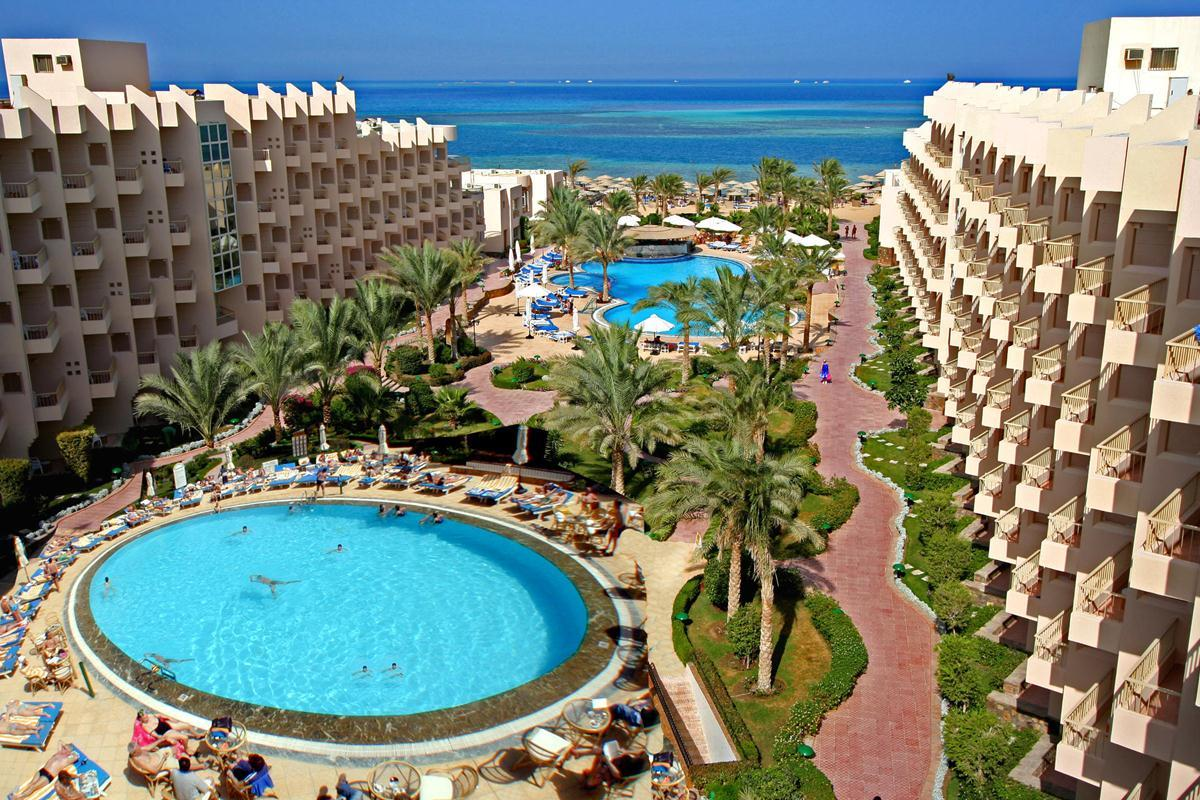 Sea Star Beau Rivage in Hurghada, Red Sea, Egypt
