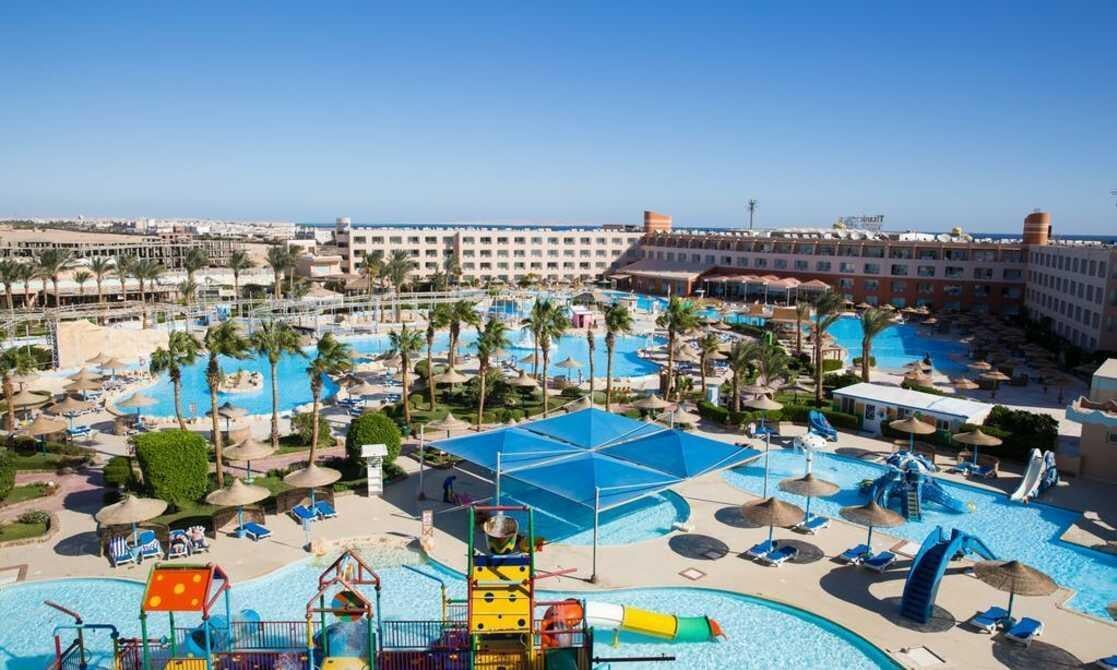 Titanic Resort & Aquapark in Hurghada, Red Sea, Egypt
