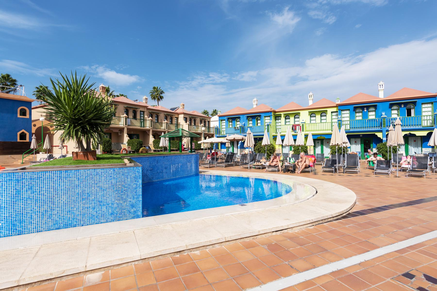 Eo Maspalomas resort (EX Club Vista Flor) in Maspalomas, Gran Canaria, Canary Islands