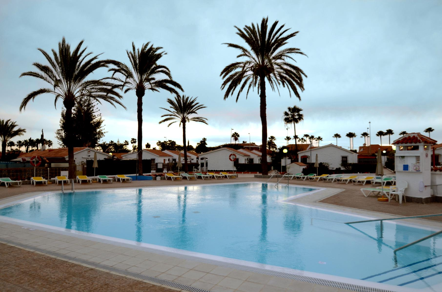 Los Arcos Bungalows in Playa del Ingles, Gran Canaria, Canary Islands