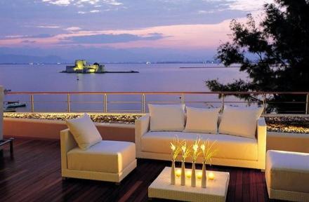 Amphitryon Hotel in Nafplio, Peloponnese, Greece
