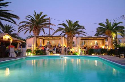 Blue Sea Hotel in Aghios Georgios, Corfu, Greek Islands