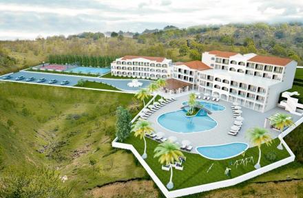 San George Palace Hotel in Aghios Georgios, Corfu, Greek Islands