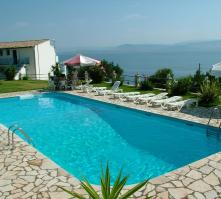 Anna Apartments in Benitses, Corfu, Greek Islands