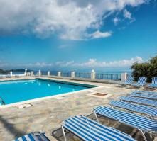 El Greco Hotel in Benitses, Corfu, Greek Islands