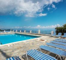 El Greco Hotel in Benitses, Corfu, Greek Islands