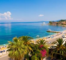 Potamaki Hotel in Benitses, Corfu, Greek Islands