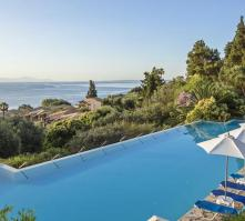 Aeolos Beach Resort in Perama, Corfu, Greek Islands