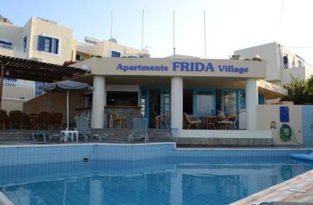 Frida Village Apartments in Hersonissos, Crete, Greek Islands