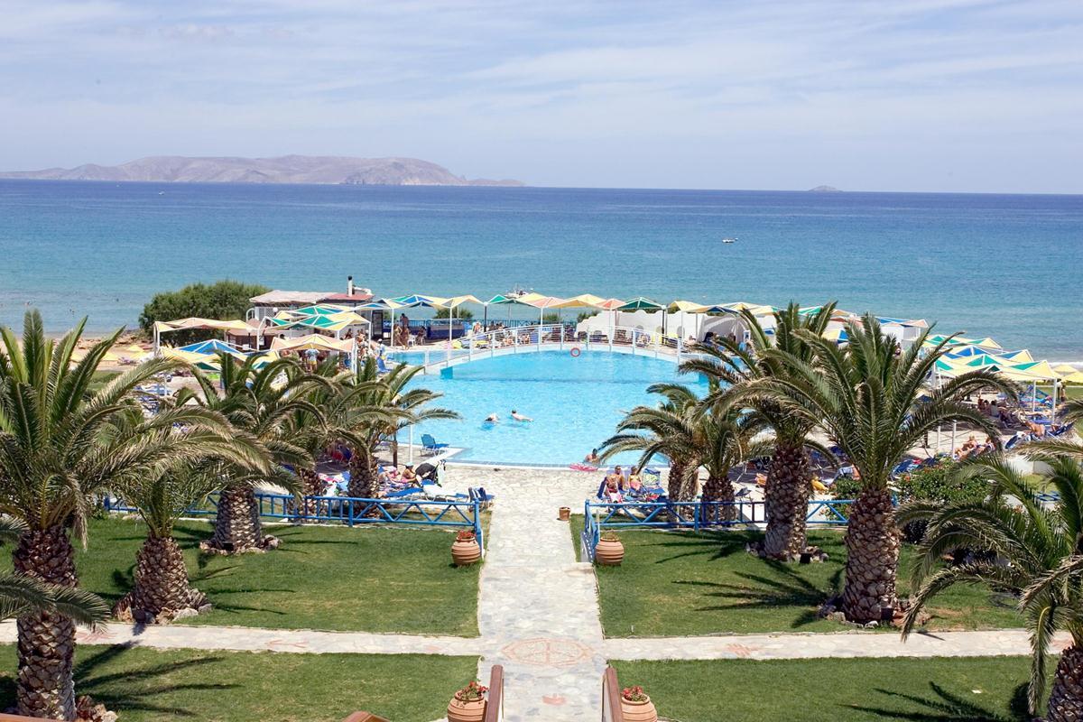 Mitsis Rinela Beach In Kokkini Hani Crete Greek Islands