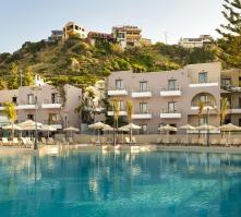 Porto Platanias Village Resort in Platanias, Crete, Greek Islands