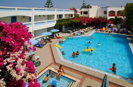 Apollon Apartments in Rethymnon, Crete, Greek Islands