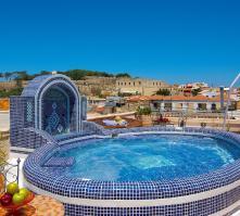 Avli Lounge Apartments in Rethymnon, Crete, Greek Islands