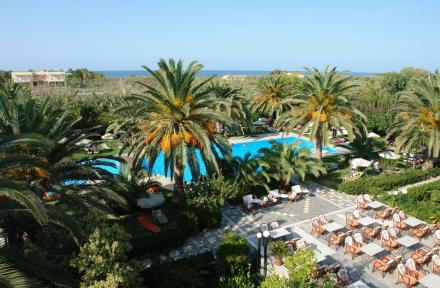 May Hotel in Rethymnon, Crete, Greek Islands